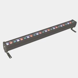 WWS Series - 28W 24 LED Outdoor Wall Washer with Plug and Play - 30 Beam Angle