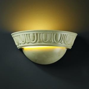 Ambiance - Small Cyma with Egg and Dart Wall Sconce
