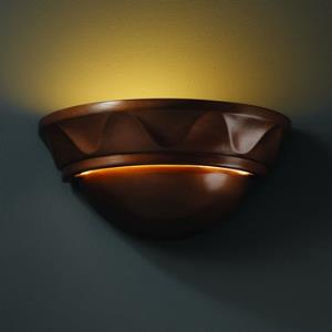 Ambiance - Small Cyma with Waves Wall Sconce