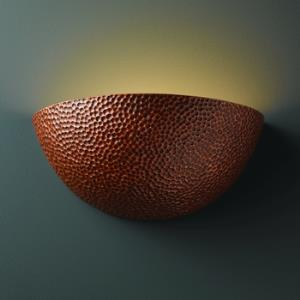 Ambiance - Large Quarter Sphere Wall Sconce
