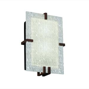3form - Clips 2-Light Rectangle Wall Sconce