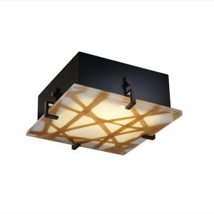 "3form - Clips 2-Light 12"" Square Wall and Ceiling Mount"