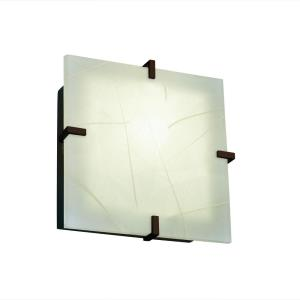 3form - Two Light Square Wall Sconce