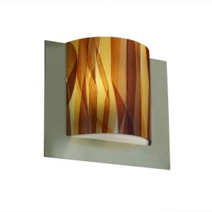 3form - Framed Square 3-Sided Wall Sconce