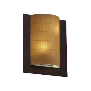 3form - Framed 2-Light Rectangle 3-Sided Wall Sconce