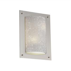3form - Framed 2-Light Rectangle 4-Sided Wall Sconce