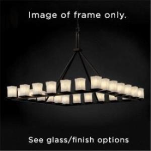 Alabaster Rocks - Twenty-Four Light Montana Ring Chandelier