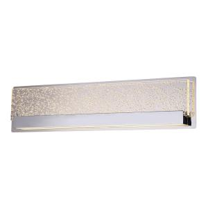 EVOLV Acryluxe Alloy - 24 Inch 13W 1 LED Up and Downlight Linear Wall/Bath Vanity