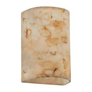 Alabaster Rocks! - Small Cylinder Open Top & Bottom Wall Sconce