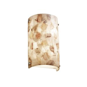 Alabaster Rocks! - Finials ADA Cylinder Wall Sconce