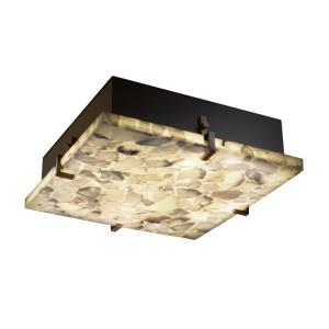Clips 12 Inch Square Flush-Mount