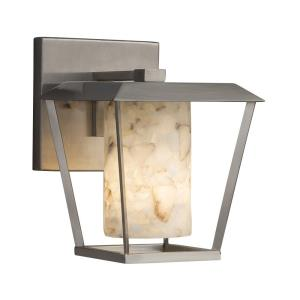 Alabaster Rocks! - Patina Small 1-Light Outdoor Wall Sconce