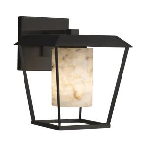 Alabaster Rocks! - Patina Large 1-Light Outdoor Wall Sconce
