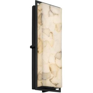 Alabaster Rocks! - Avalon Large ADA Outdoor/Indoor LED Wall Sconce