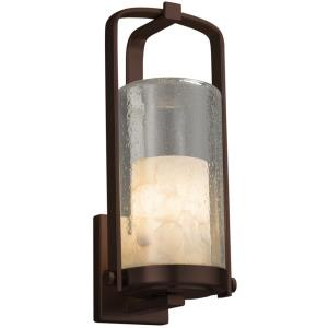Alabaster Rocks! - Atlantic 1-Light Large Outdoor Wall Sconce