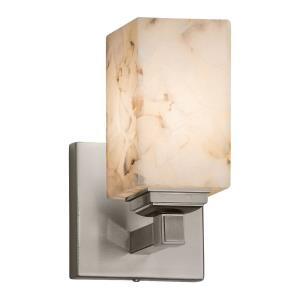 Alabaster Rocks - 8.25 Inch One Light Wall Sconce