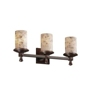Alabaster Rocks! - Deco 3-Light Bath Bar
