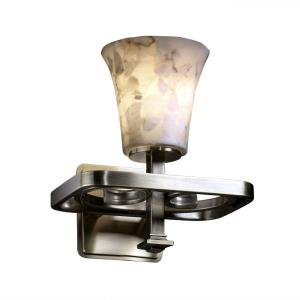 "Alabaster Rocks - 9.25"" One Light Wall Sconce"