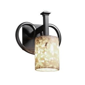 "Alabaster Rocks - 10"" One Light Wall Sconce"