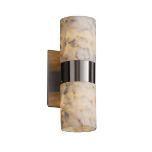 Alabaster Rocks! - Dakota 2-Up/Down Light Wall Sconce