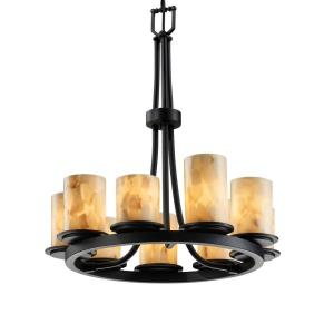 Alabaster Rocks! - Dakota 9-Light Ring Chandelier