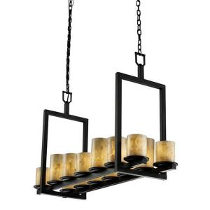 Dakota 14-Light Bridge Chandelier (Short)