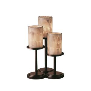 Alabaster Rocks! - Dakota 3-Light Table Lamp