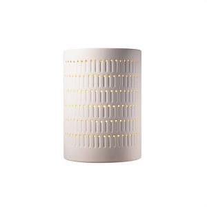 Ambiance - Large Cactus Cylinder Open Top and Bottom Wall Sconce
