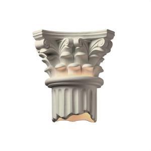 Ambiance - Corinthian Column Open Bottom Wall Sconce