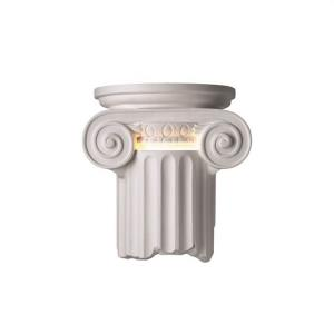 Ambiance - Ionic Column Open Bottom Wall Sconce