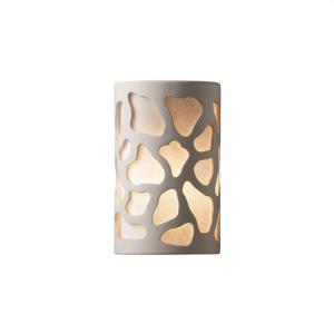 Ambiance - Small ADA Cobblestones Open Top and Bottom Wall Sconce