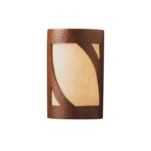 Ambiance - Large Lantern - Open Top and Bottom Outdoor Wall Sconce