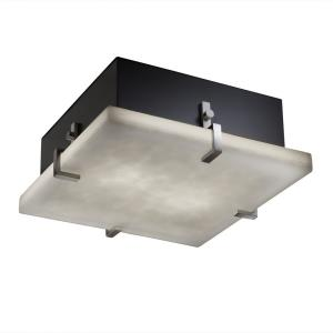 Clouds Clips - 16.5 Inch Square Wall/Flush Mount with Cloud Resin Shades
