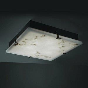 """Clouds - 24"""" Square Clips Flush-Mount / Wall Sconce"""
