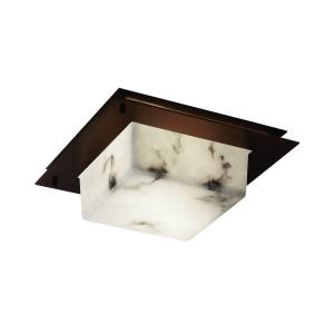 """Clouds - 12"""" Square Framed Flush-Mount / Wall Sconce"""