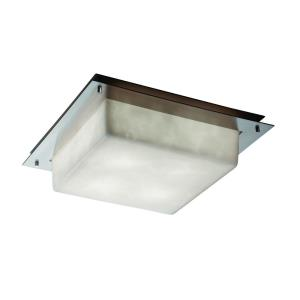 """Clouds - 16"""" Square Framed Flush-Mount / Wall Sconce"""