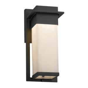 Clouds Pacific - 12 Inch Small Outdoor Wall Sconce with Cloud Resin Shades