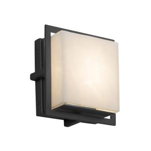 Clouds Avalon - 6.5 Inch ADA Outdoor/Indoor Square Wall Sconce with Cloud Resin Shades