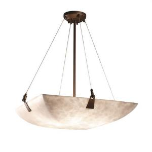 Clouds - Tapered Clips 8-Light 39 Inch Pendant Bowl