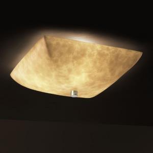 Clouds - 3-Light 18 Inch Semi-Flush Bowl