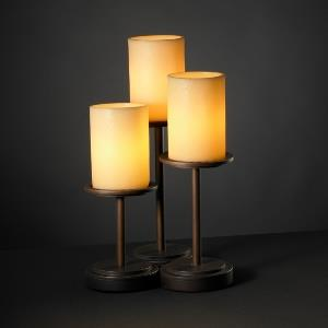 CandleAria - Dakota 3-Light Table Lamp