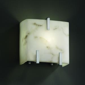 LumenAria - One Light Small Clips Wall Sconce