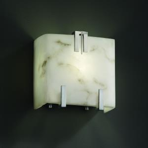 LumenAria - One Light Clips Wall Sconce