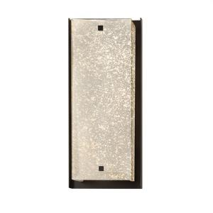 Fusion Carmel - 24 Inch 15W 1 LED ADA Outdoor Wall Sconce with Square Mercury Glass Shade
