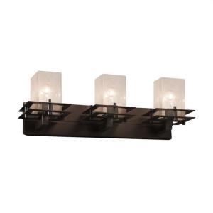 Fusion Metropolis - 3 Light Bath Bar