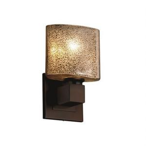 Fusion Aero - 1 Light ADA No Arms Wall Sconce with Oval Mercury Glass Shade