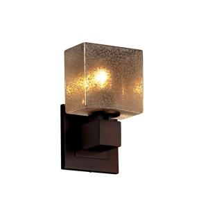 Fusion Aero - 1 Light ADA No Arms Wall Sconce with Rectangle Mercury Glass Shade