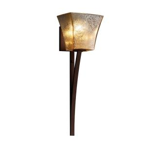 Fusion Sabre - 1 Light Wall Sconce with Square Flared Mercury Glass Shade