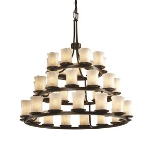 Dakota - Thirty-Six Light Three Tier Ring Chandelier