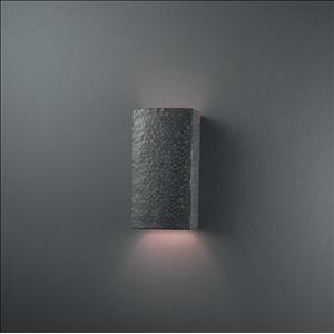 Ambiance - Small Rectangle Open Top and Bottom Wall Sconce